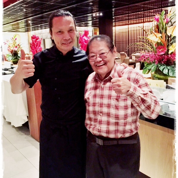 With Celebrity Chef Susur Lee @ Tung Lok Heen